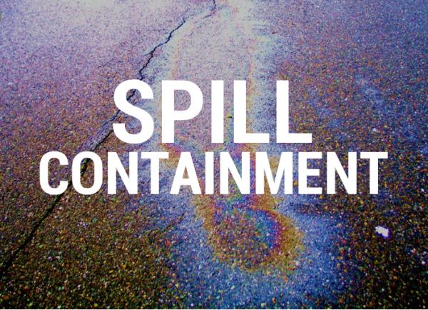 Tennier Sanitation on spill containment