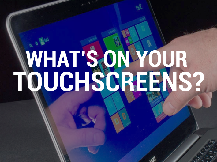 Tennier Sanitation on cleaning touchscreens