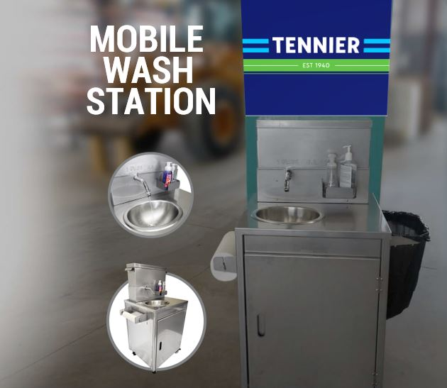 Hamilton's Tennier Sanitation has mobile wash stations