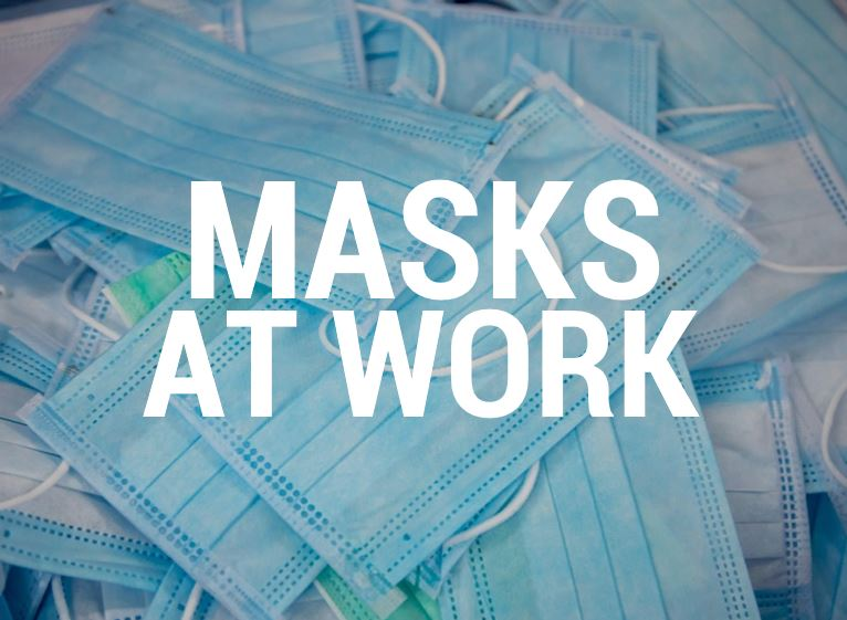 How to use face masks at work by Tennier