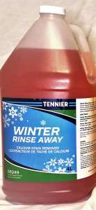 Tennier Sanitation invents Winter Rinse Away which cleans Ontario businesses in winter